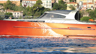 Targa Roof System - Photo courtesy of Motion Yachts BV